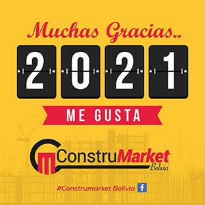 2K+ Likes - Fan Page Construmarket Bolivia