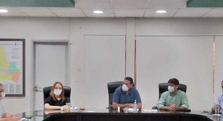 Reunión Cadecocruz Gobierno