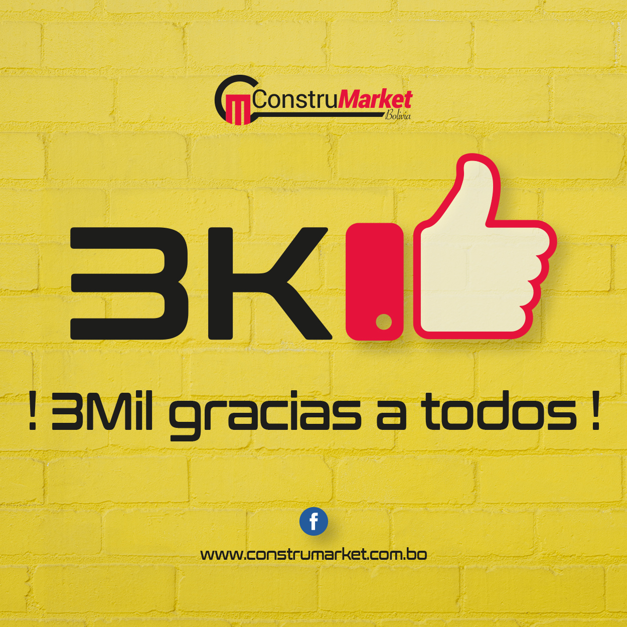 ¡3Mil gracias a todos!