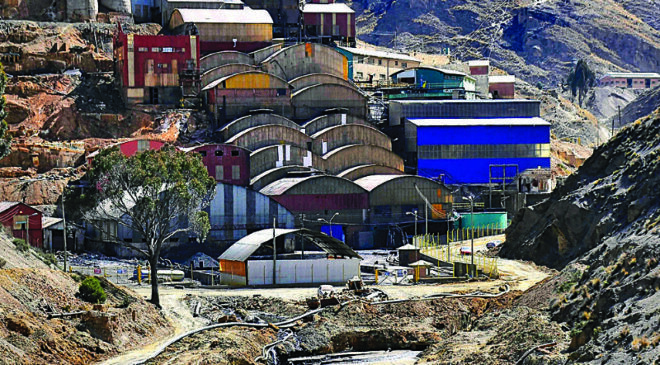 Minería: Se activa la construcción de la planta concentradora de Colquiri