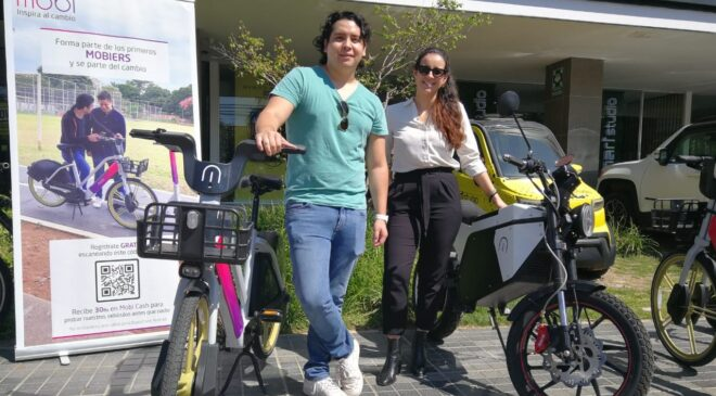 MOBI apuesta por cambiar la movilidad urbana en Santa Cruz con vehículos eléctricos